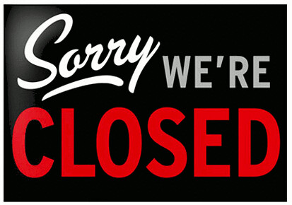 Büro/Infocenter ist vorübergehend geschlossen