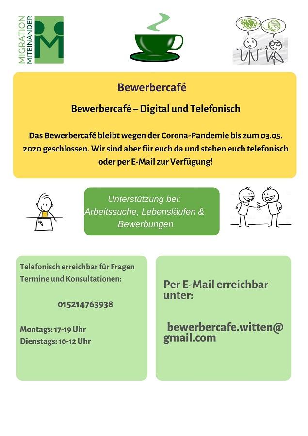 Bewerbercafé News!